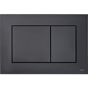 TECEnow Betätigungsplatte 9240403 schwarz, Zweimengentechnik