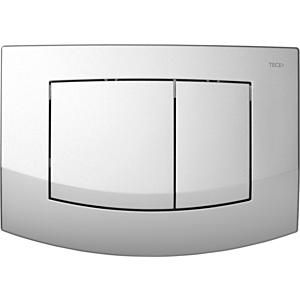 TECEambia WC-Betätigungsplatte 9240225 chrom matt, Zweimengentechnik