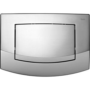 TECEambia WC-Betätigungsplatte 9240126 chrom glänzend, Einmengentechnik
