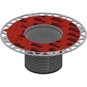 TECEdrainpoint S Aufstockelement 3660005 mit Seal System Universalflansch