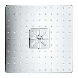 Grohe Rainshower 310 SmartActive Cube Kopfbrause 26479LS0, moonwhite, mit Duscharm 430 mm