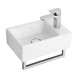Villeroy & Boch Memento Handtuchhalter 874934D7 Edelstahl hochglanz poliert, für Handwaschbecken