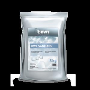 BWT Sanitabs Regeneriersalz 94241  8 kg, Sack