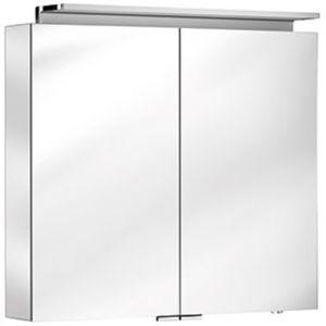 Keuco Royal L1 Spiegelschrank 13603171301 silber-gebeizt-eloxiert, 800x742x150 mm