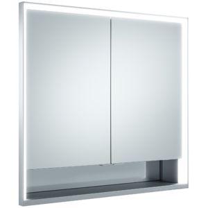 Keuco Royal Lumos Spiegelschrank 14312171301 Wandeinabu, 800x735x165mm, mit LED-Beleuchtung