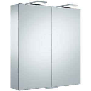 Keuco Royal 25 Spiegelschrank 14102171301 silber gebeizt eloxiert, 650x720x150mm