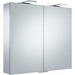 Keuco Royal 25 Spiegelschrank 14103171301 silber gebeizt eloxiert, 800x720x150mm