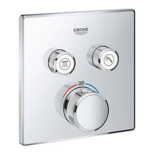 Grohe Smartcontrol shower thermostat 29124000, chrome, with 2 shut-off valves