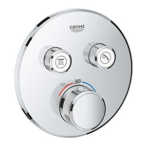 Grohe Grohtherm Smartcontrol Brausethermostat 29119000, chrom, 2 Absperrventile