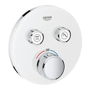 Grohe Grohtherm Smartcontrol Brausethermostat 29151LS0, moon white, 2 Absperrventile