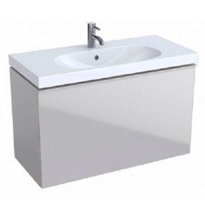 Keramag Acanto Waschtischunterschrank 500616JL2 Compact, 89x53,5x41,6 cm, Glas Sand - Sand matt