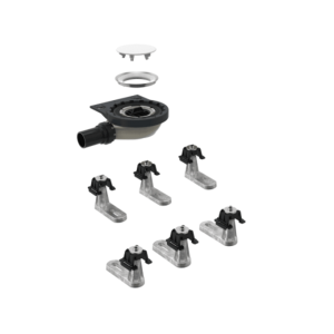 Geberit Setaplano shell set 154021001 for Setaplano shower surface, 6 feet, 40mm
