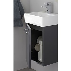 Artiqua Serie 831 Waschtischunterschrank 831-WUT-CM03-L, castello eiche, links