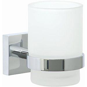 nwb Glashalter Pro 030 P03145 chrom, mit Befestigungstechnik zum Kleben