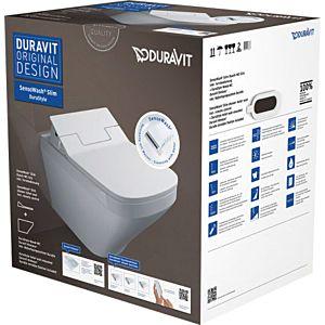 Duravit DuraStyle Dusch-WC Set 631001002004300 weiß, rimless inkl. SensoWash Slim Dusch WC-Sitz