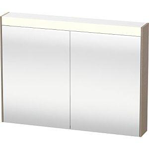 Duravit Brioso LED-Spiegelschrank BR710207575 820x760mm, Leinen, 2 Türen