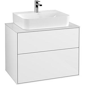 Villeroy & Boch Finion Unterschrank G09100GF 80x60,3x50,1cm, Glossy White Lacquer
