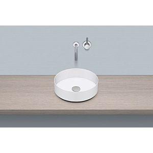 Alape AB.KE375 Aufsatz-Waschtisch 3221000000 Ø 37,5 cm, ohne Hahnloch, ohne Überlauf