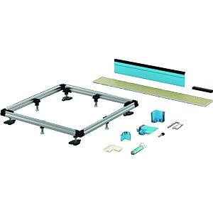 BETTE Einbausystem Universal B506051 90 x 90 cm, für bodenebene Montage