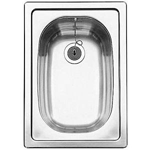 Blanco Einbau-Becken 501067 33x47x15cm, Edelstahl, ohne Ablauffläche
