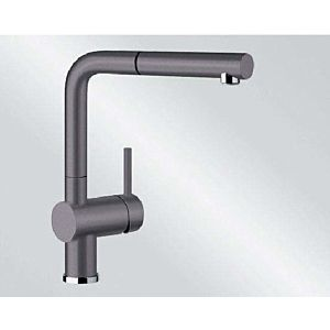Blanco Linus-s Küchenarmatur 518813 ausziehbar, SILGRANIT-Look felsgrau