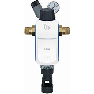 "BWT R1 Hauswasserstation 1"" 40370 Rückspülfilter mit Druckminderer, inkl. Anschluss"