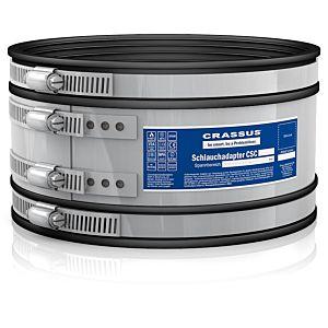 Crassus Adaptateur de tuyau Csc CRA14037 115, 100-115 mm, 2,5 bar