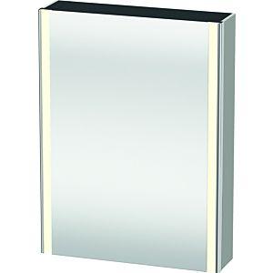 Duravit XSquare mirror cabinet XS7111L0707 60x80x15.6cm, left door, matt concrete gray