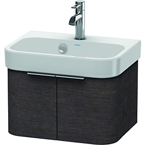 Duravit Happy D.2 Waschtischunterbau H2626807272 47,5 x 35 x 28cm, Eiche dunkel, 2 Türen