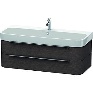 Duravit Happy D.2 Waschtischunterbau H2636707272 117,5x48x38cm, Eiche dunkel, 2 Schubkästen