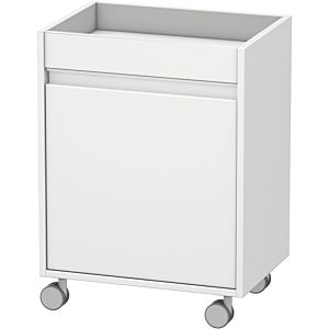 Duravit Ketho Rollcontainer KT2530L1818 50 x 67 x 36 cm, Anschlag links, weiss