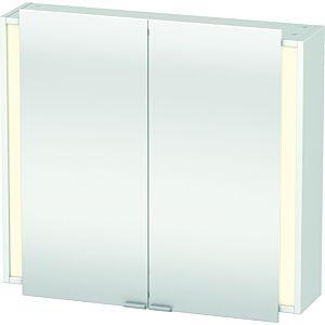 Duravit Ketho Spiegelschrank KT753101818 80 x 75 x 18 cm, weiss, mit Beleuchtung
