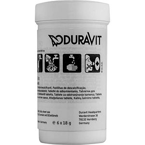Duravit descaling tablets 1007250000 PU 6