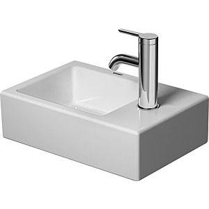 Duravit Vero Air Handwaschbecken 0724380000 38 x 25 cm, mit Hahnloch, ohne Üüberlauf, weiss