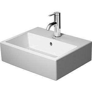 Duravit Vero Air Möbelhandwaschbecken 07244500001 weiß wondergliss,45x35cm,mit Hahnloch und Überlauf