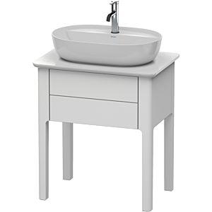 Duravit Luv Duravit sous-lavabo LU956009292 68.8x45x74.3cm, Steingrau Seidenmatt , 2000 extractible, debout