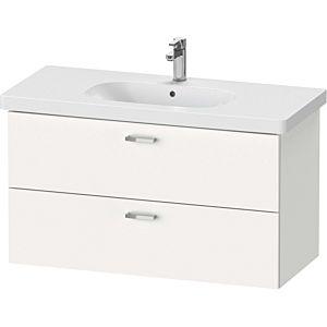 Duravit XBase Duravit XB619301818 100x56x45.8cm, blanc mat, 2 tiroirs