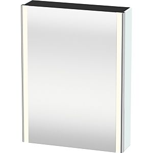 Duravit XSquare mirror cabinet XS7111L0909 60x80x15.6cm, left door, light blue matt