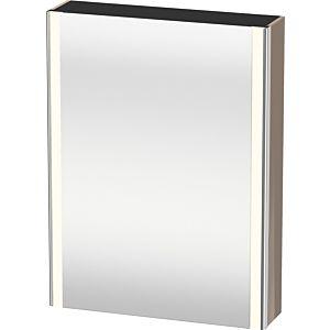 Duravit XSquare Spiegelschrank XS7111L8686 60x80x15,6cm, Tür links, cappuccino hochglanz
