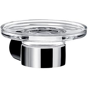 Emco Fino Seifenhalter 843000100 chrom, Kristallglas klar