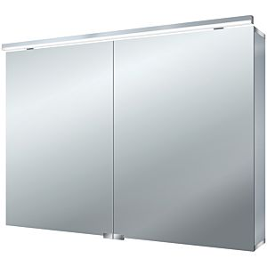 Emco Asis Pure (LED) mirror cabinet 979705083 1000 x 728 mm, aluminum, 2 doors