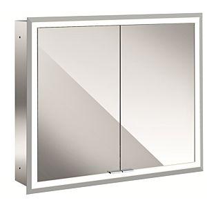 Emco Asis Prime Spiegelschrank 949706172 830x730mm,Unterputz,mit Lichtpaket, weiße Rückwand