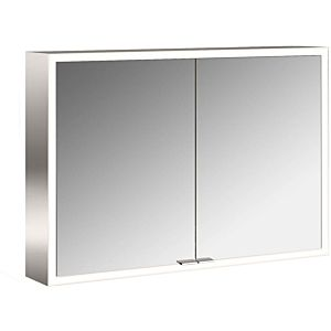 Emco Asis Prime surface-mounted illuminated mirror cabinet 949706083 1000x700mm, with light package, 2-door, rear wall Mirrors