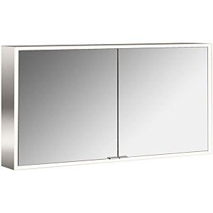 Emco Asis Prime monté en surface illuminée armoire de toilette 949706185 1300x700mm, avec le paquet de lumière, le 2-porte, paroi arrière blanc