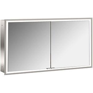 Emco Asis Prime Unterputz-Lichtspiegelschrank 949705095 1300x730mm, 2-türig, Rückwand Spiegel