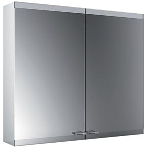 Emco Asis Evo surface-mounted illuminated mirror cabinet 939708004 800x700mm, 2-door, with lightsystem, without mirror heating