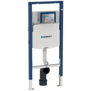 Geberit Duofix stand WC element 111915005 bra 112cm, with Sigma concealed cistern 12cm, for children WC