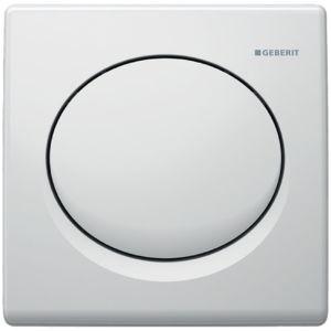 Geberit Urinalsteuerung Basic 115820115 weiß, pneumatisch, Kunststoff