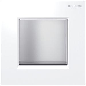Geberit Urinalsteuerung Typ 30 116017KL1 pneumatisch, weiß/mattchrom