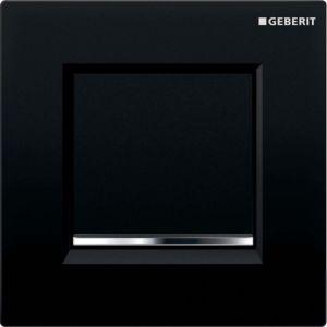 Geberit Urinalsteuerung Typ 30 116017KM1 pneumatisch, schwarz/hochglanz-verchromt